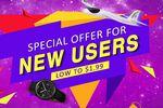 Tomtop promotion nouveaux utilisateurs