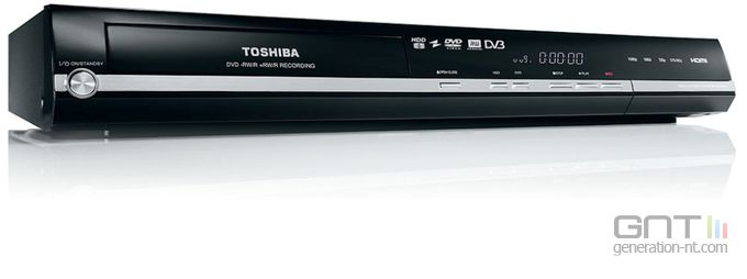 Toshiba  enregistreur DVD RD-98DT