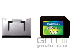 Transcend mmc mobile 1gb with adapter small