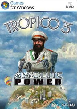 Tropico 3 Absolute Power - Jaquette