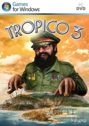 Tropico 3 - Jaquette