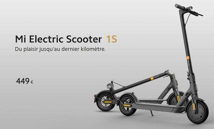 Trottinette électrique Xiaomi Mijia 1S