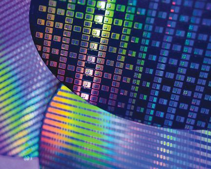 TSMC wafer