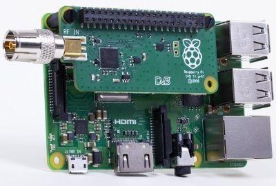 Le Raspberry Pi se dote d'un TV Hat