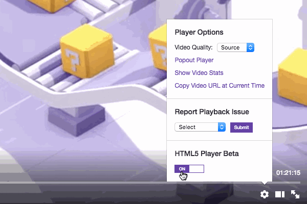 Twitch-player-html5-beta