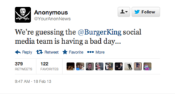 Twitter Burger king McDonald's 3
