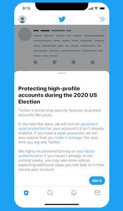 twitter-message-renforcement-securite-compte