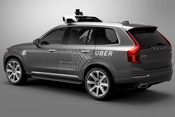 Uber SUV véhicule autonome