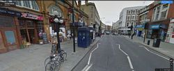 UK street view tardis