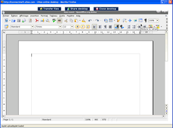 Ulteo openoffice writer