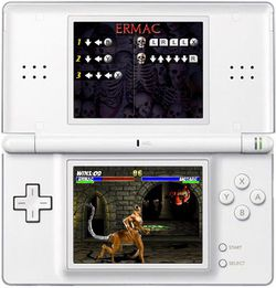 Ultimate mortal kombat ds image 6