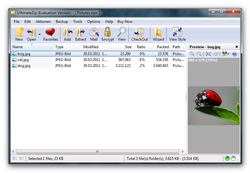 UltimateZip screen 1