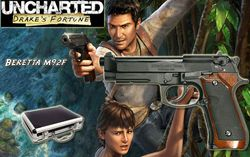 Uncharted - réplique Beretta