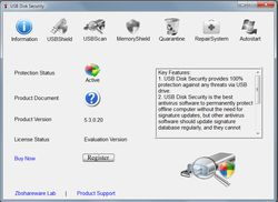 USB Disk Security screen 2