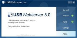 USB Webserver screen2