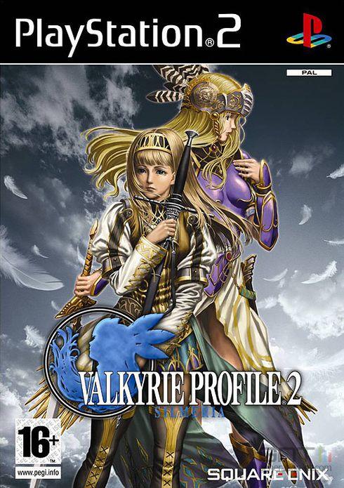 Valkyrie Profile 2 : Silmeria - Pochette PAL