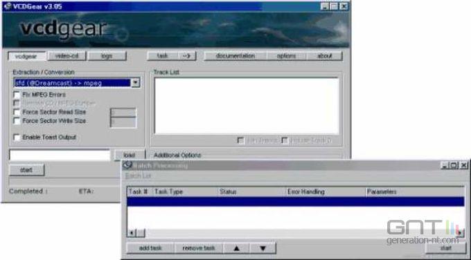 VCDGear screen 1