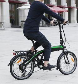 vélo électrique pliable 20 pouces