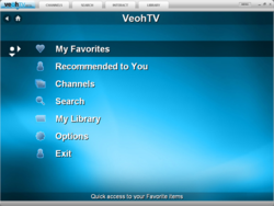 VeohTV screen2