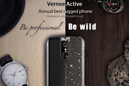 vernee active le smartphone renforc avec jeu concours. Black Bedroom Furniture Sets. Home Design Ideas