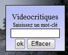 Gadget VIDEOCRITIQUES