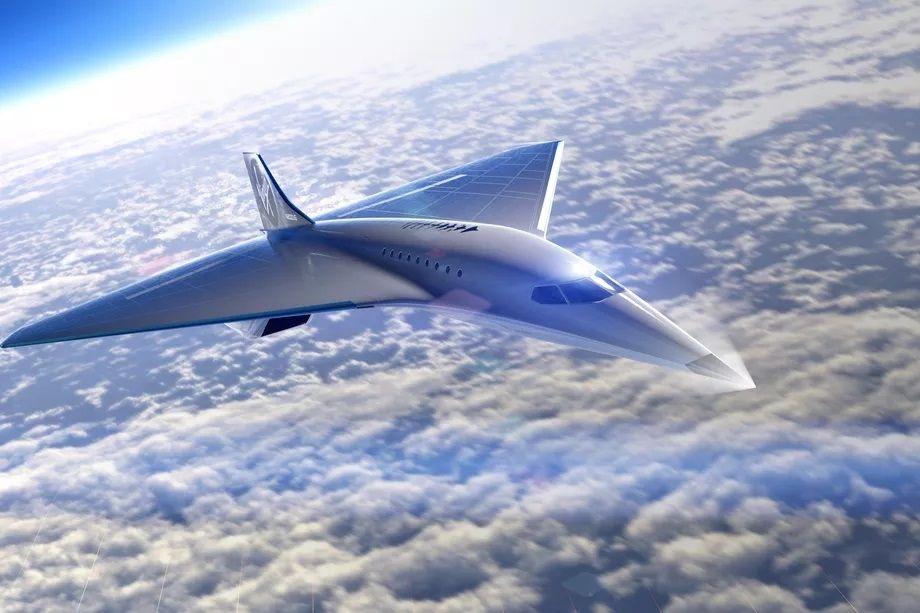 Virgin Galactic présente son projet d'avion supersonique pouvant atteindre Mach 3