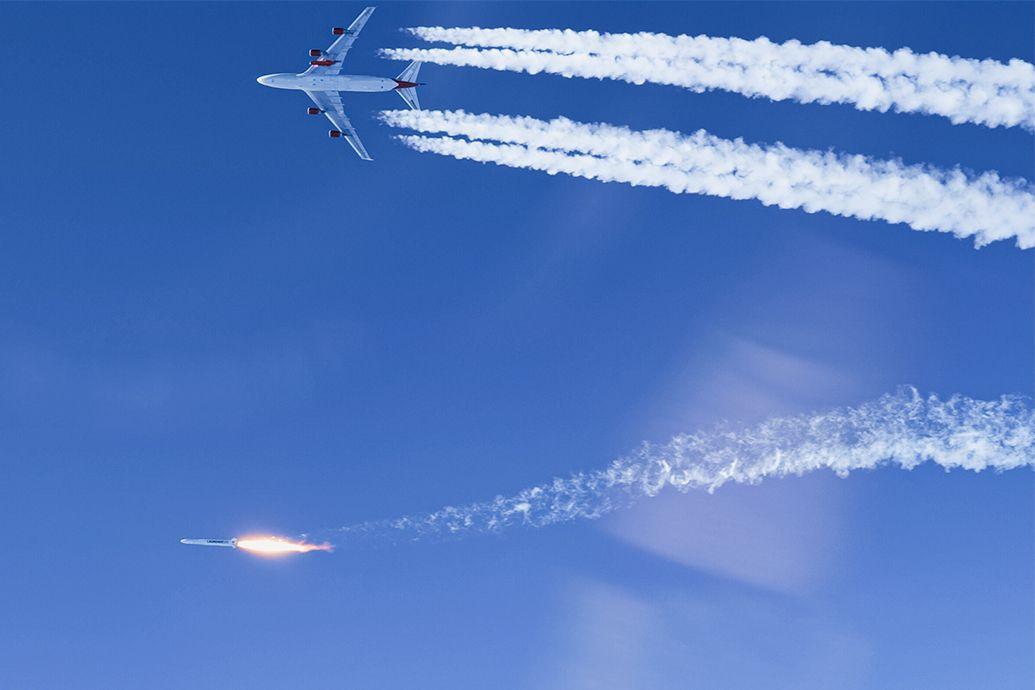 Virgin Orbitpublie une vidéo du lancement de sa fusée aéroportée