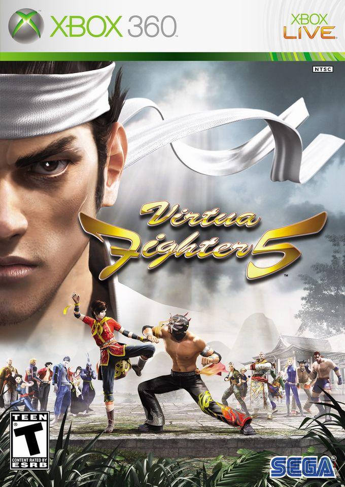 Virtua Fighter 5 - packshot Xbox 360