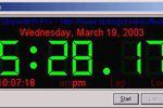 Virtual Stopwatch Pro : régler l'heure et des alarmes sur un PC