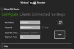 Virtual WiFi Router : créer son réseau sans fil !