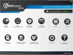 viruskeeper 2014 menu