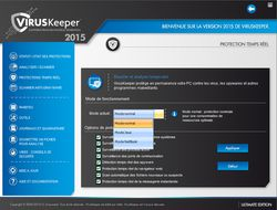 viruskeeper 2015 protection temps réel