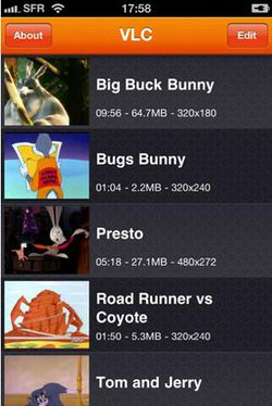 VLC Media Player iPhone
