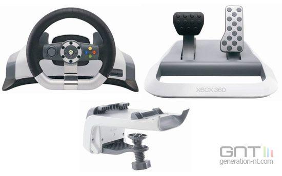 test volant xbox 360. Black Bedroom Furniture Sets. Home Design Ideas