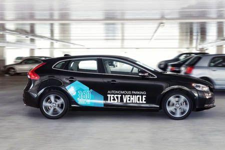 volvo voiture parking autonome