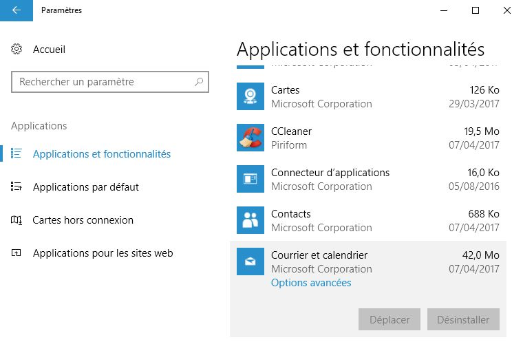 W10-CU-application-desinstallation-Courrier-option-grisee