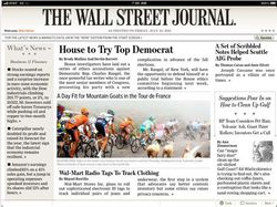 Wall Street Journal iPad