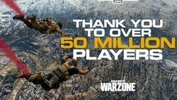Warzone 50 millions