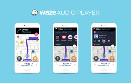 Waze-Audio-Player