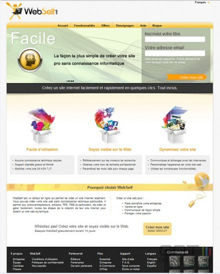 WebSelf_page-d-accueil