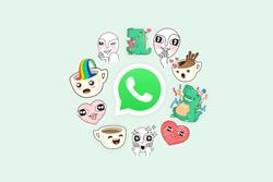 WhatsApp-stickers-logo