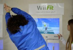 Wii Fit   femme