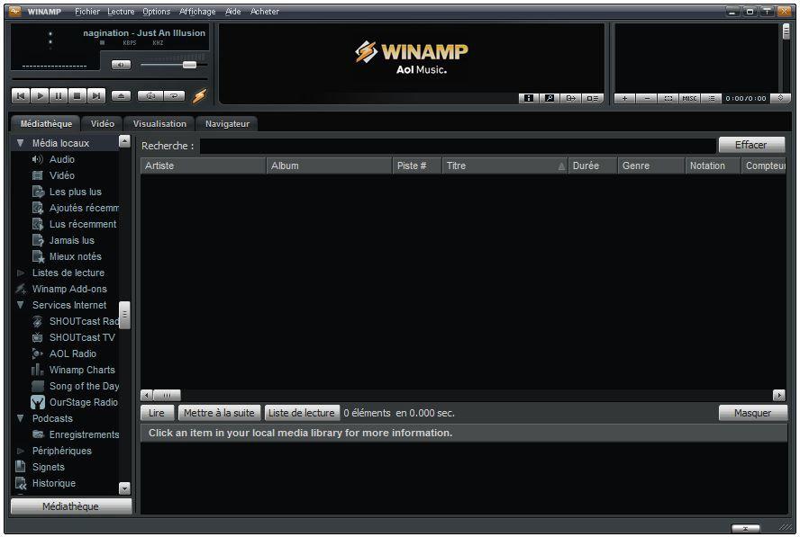 WINAMP 2.91 TÉLÉCHARGER
