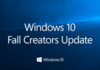 C'est probablement Windows 10 Fall Creators Update