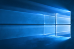 Windows-10-fond-ecran-officiel-logo