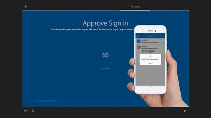 Windows 10 identification smartphone
