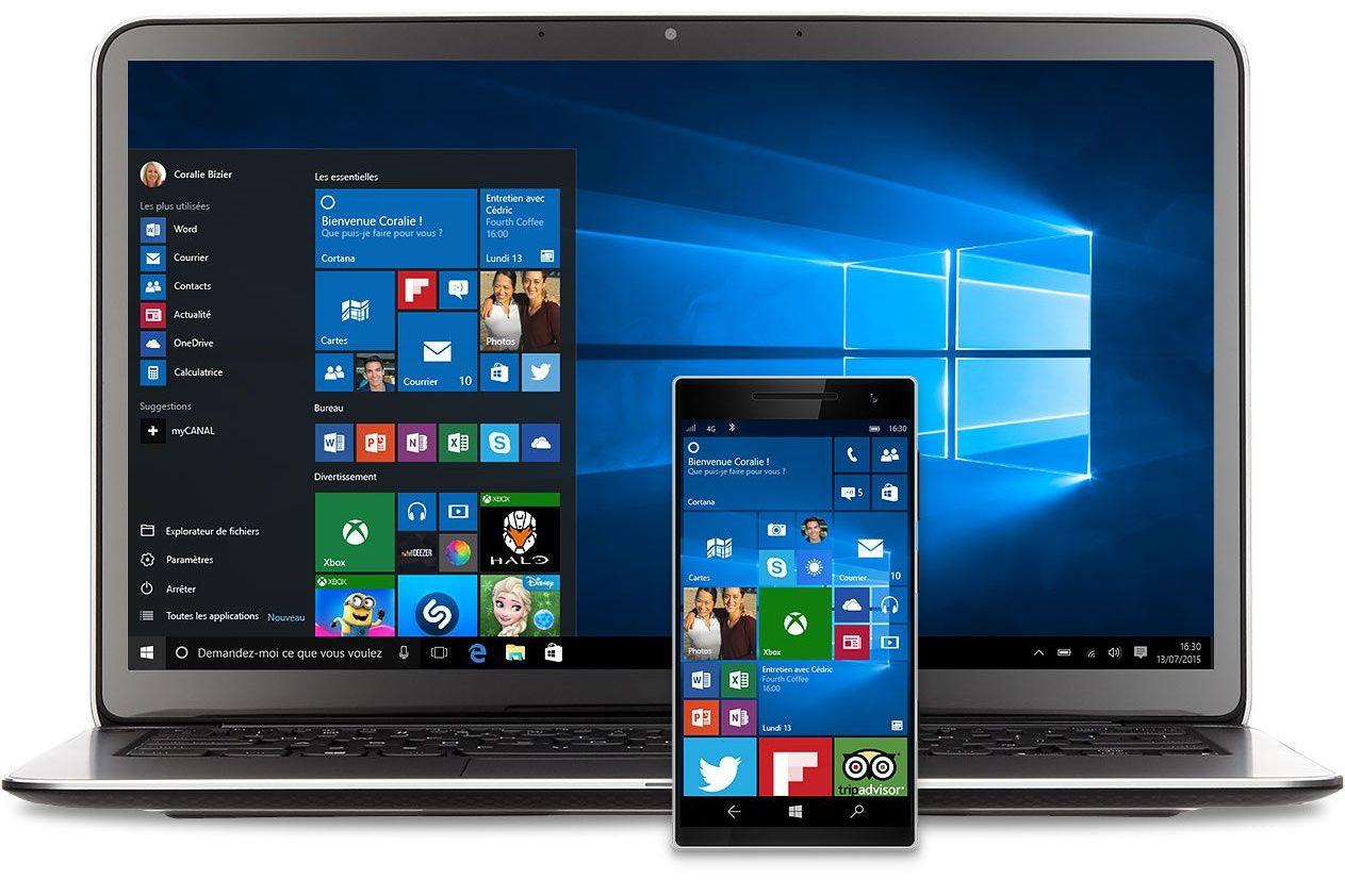 Windows 10 : écran bleu et bugs pour la dernière mise à jour