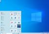 Windows 10 : le relooking du menu Démarrer (et plus) dans le canal Dev
