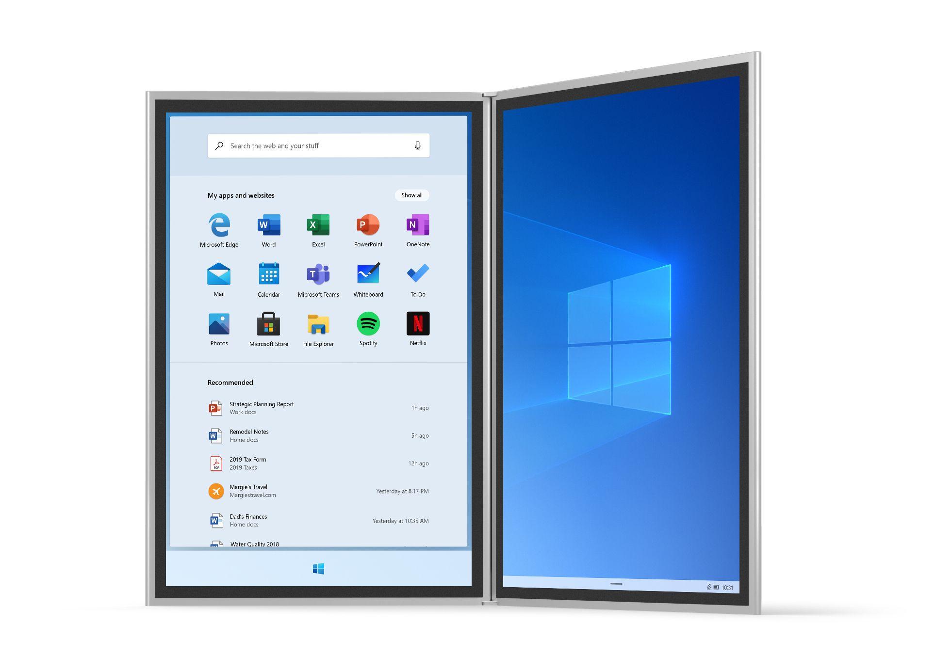 Windows 10X : quatre innovations et des mises à jour en moins de 90 secondes