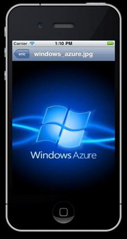 Windows Azure iOS